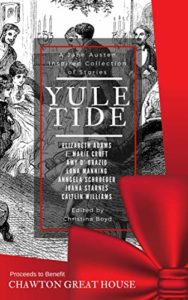 The cover of Yule Tide an anthology of Christmas Austen stories
